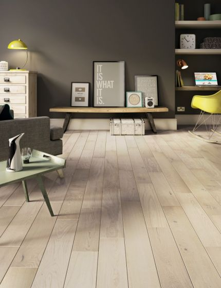 Kersaint Cobb Simply Oak Pale Oak UV Oiled SO20 Engineered Flooring