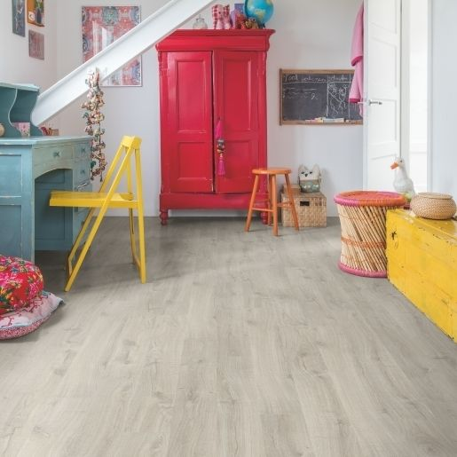 Quick-Step Eligna Newcastle Oak Grey EL3580 8mm AC4 Laminate Flooring
