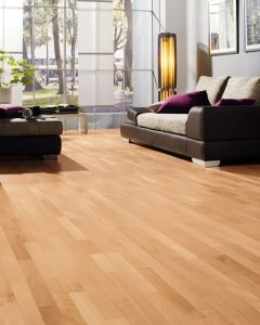 HARO PARQUET 4000 Longstrip Beech Steamed Trend permaDur 523789 Engineered Flooring