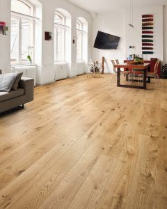 HARO PARQUET 4000 Plank 1-Strip 2V Oak Sauvage Brushed permaDur 524634 Engineered Flooring