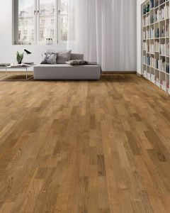 HARO PARQUET 4000 Longstrip Smoked Oak Favorit permaDur 533197 Engineered Flooring