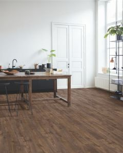 Quick-Step Vinyl Alpha Vinyl Medium Planks Autumn Oak Chocolate AVMP40199 Rigid Vinyl Flooring