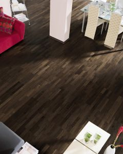 HARO PARQUET 4000 Longstrip African Oak Trend Brushed naturaLin plus 530141 Engineered Flooring