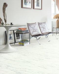 Quick-Step Livyn Ambient Click Marble Carrara White AMCL40136 Luxury Vinyl Flooring