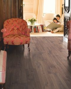 Quick-Step Classic Midnight Oak Brown CLM1488 8mm AC4 Laminate Flooring