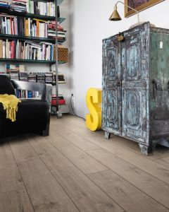 HARO Laminate Floor TRITTY 100 Plank 1-Strip 4V Oak Portland Grey Authentic 533121