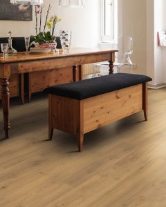 HARO Laminate Floor TRITTY 100 Plank 1-Strip 4V Oak Emilia Honey Authentic Soft 538692