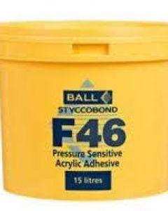 F BALL STYCCOBOND F46 - 5L Pressure Sensitive Acrylic Adhesive