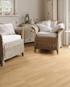 HARO PARQUET 4000 Longstrip Ash Light White Favorit Brushed permaDur 531988 Engineered Flooring