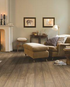 Quick-Step Impressive Ultra IMU1850 Scraped Oak Grey Brown 12mm AC5 Laminate Flooring