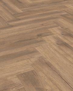 Kronotex Herringbone Treviso Oak D4764 8mm AC4 Laminate Flooring