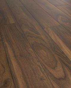 Kronoswiss Swiss Solid Walnut Rubio D2562 PR 12mm AC5 Laminate Flooring