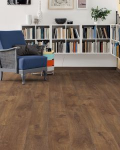 HARO Laminate Floor TRITTY 90 Plank 1-Strip 4V Oak Smoked Heartwood Matt 538656