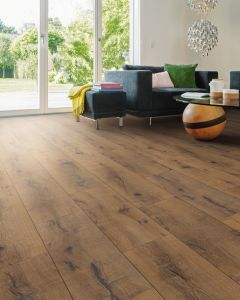 HARO Laminate Floor TRITTY 100 Plank 1-Strip 4V Oak Italica Smoked Authentic 530327