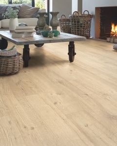 Quick-Step Impressive IM1853 Sandblasted Oak Natural 8mm AC4 Laminate Flooring