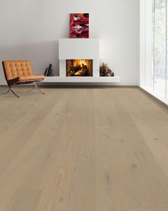 HARO PARQUET 4000 Plank 1-Strip 2V Oak Sand Grey Sauvage brushed permaDur 538944 Engineered Flooring