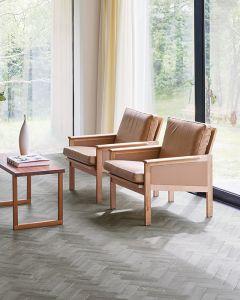 LG Hausys Harmony Parquet Dovedale Oak 6202 Luxury Vinyl Tile Flooring