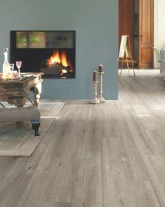 Quick-Step Impressive Ultra IMU1858 Saw Cut Oak Grey 12mm AC5 Laminate Flooring