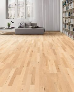 HARO PARQUET 4000 Longstrip Canadian Maple Favorit permaDur 524406 Engineered Flooring