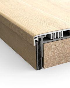 Quick-Step Vinyl Incizo Aluminium Subprofile For Stairs 17 x 33 x 2000mm NEVINCPBASE1