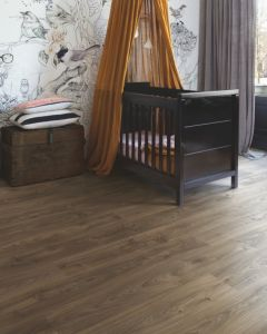 Quick-Step Livyn Balance Glue Plus Cottage Oak Dark Brown BAGP40027 Luxury Vinyl Flooring