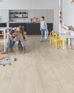 Quick-Step Impressive Ultra IMU1857 Saw Cut Oak Beige 12mm AC5 Laminate Flooring