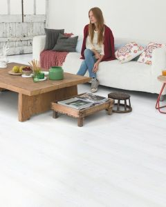Quick-Step Impressive IM1859 White Planks 8mm AC4 Laminate Flooring
