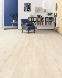 HARO Laminate Floor TRITTY 90 Plank 1-Strip 4V Oak Savona White Soft Matt 538648