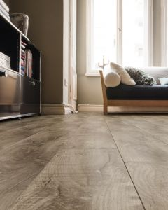 HARO Cork floor CORKETT Arteo XL Shabby Oak grey brushed permaDur finish 537261 Cork Flooring