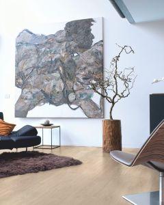 Quick-Step Eligna Varnished Oak Light Grey EL1304 8mm AC4 Laminate Flooring