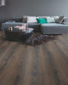 Quick-Step Majestic Desert Oak Brushed Dark Brown MJ3553 9.5mm AC4 Laminate Flooring