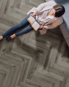 FIRMFIT Boutique Rigid Core Herringbone EW-2557 Luxury Vinyl Flooring