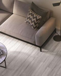 Tuscan Forte Light Grey Brushed, Saw Marked & Lacquered TF517 Engineered Wood Flooring