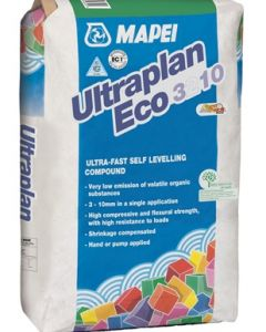 Mapei Ultraplan Eco 3210 20Kg Ultra-fast Hardening Self-Leveling Compound