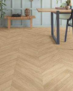 Quick-Step Impressive Patterns Chevron Oak Medium IPA4160 8mm AC4 Laminate Flooring