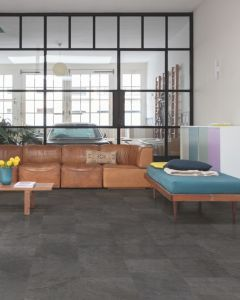 Quick-Step Livyn Ambient Click Black Slate AMCL40035 Luxury Vinyl Flooring