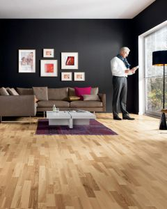 HARO PARQUET 4000 Longstrip Ash Favorit permaDur 525127 Engineered Flooring