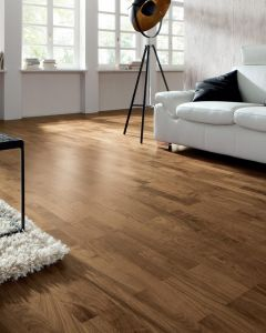 HARO PARQUET 4000 Longstrip American Walnut Trend naturaLin plus 533046 Engineered Flooring