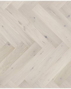Kersaint Cobb Levana Herringbone LV414 Matt Lacquered Engineered Wood Flooring
