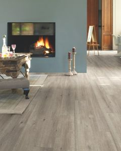 Quick-Step Impressive IM1858 Saw Cut Oak Grey 8mm AC4 Laminate Flooring