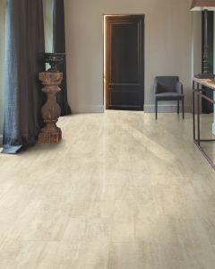 Quick-Step Livyn Ambient Click Cream Travertin AMCL40046 Luxury Vinyl Flooring