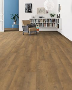 HARO Laminate Floor TRITTY 100 Plank 1-Strip 4V Oak Bergamo Natur Authentic Soft 538693