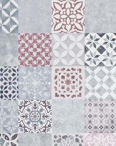 FAUS Retro Mosaic Tile S180147 8mm AC6 Laminate Flooring