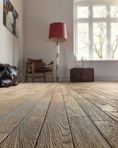 HARO PARQUET 4000 Longstrip 4V Oak Tobacco Grey Terra Retro Brushed 3D 532982 Engineered Flooring