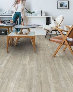 Quick-Step Vinyl Alpha Vinyl Medium Planks Morning Mist Pine AVMP40074 Rigid Vinyl Flooring