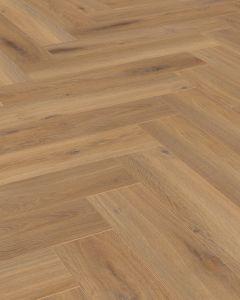 Kronotex Herringbone Pisa Oak D3861 8mm AC4 Laminate Flooring