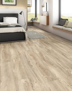 HARO Cork floor CORKETT Arteo XL Shabby Oak white brushed permaDur finish 537259 Cork Flooring