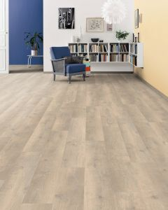 HARO Laminate Floor TRITTY 90 Plank 1-Strip 4V Oak Bergamo Antic White Authentic Soft 538646