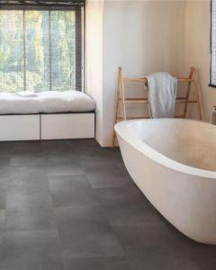 Quick-Step Vinyl Alpha Vinyl Tiles Volcanic Rock AVST40231 Rigid Vinyl Flooring