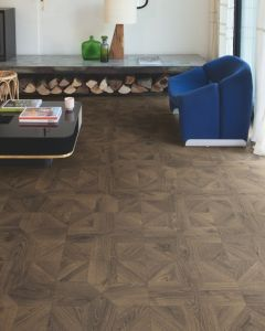 Quick-Step Impressive Patterns Royal Oak Dark Brown IPA4145 8mm AC4 Laminate Flooring